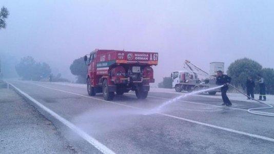 Foça'da Yangın
