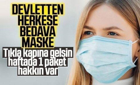 PTT Ücretsiz Maske Dağıtımı Yapacak