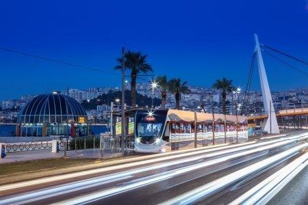 İzmir Tramvayında 35 Milyon Yolcu